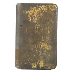 Nouveau testament US Army pare-éclats, plaqué or