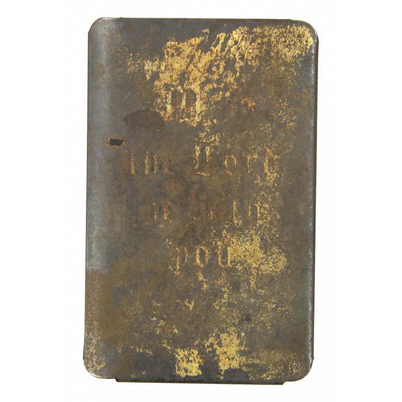 New Testament, Steel Shield, Gold-Plated
