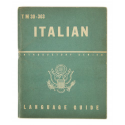 Booklet, Italian Language guide, 1943