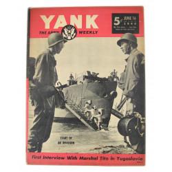 Magazine YANK, 16 juin 1944
