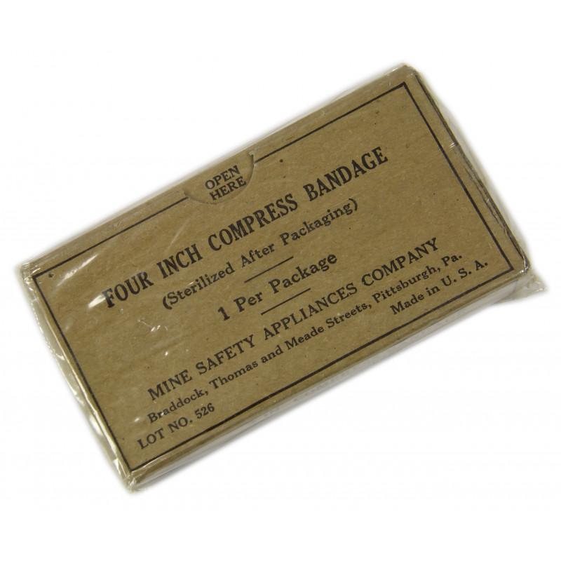 Bandage, Four Inch Compress, MSA Co.