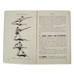 Manual, Basic, Field, FM 23-25, Bayonet, 1943