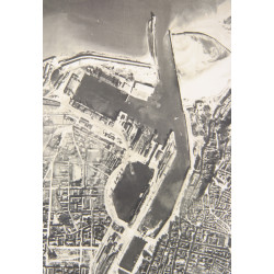 Photo, Aerial, Boulogne, 1944