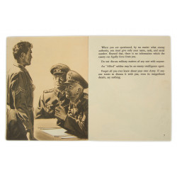 """Booklet, """"If you should be Captured"""", 1944"""