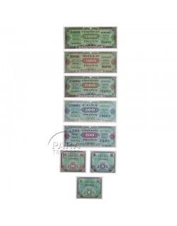 Billets de solde, francs