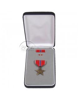 Coffret médaille Bronze Star