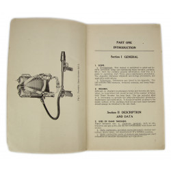 Manual, Technical, TM 3-376A, Flame Thrower M2-2, 1944