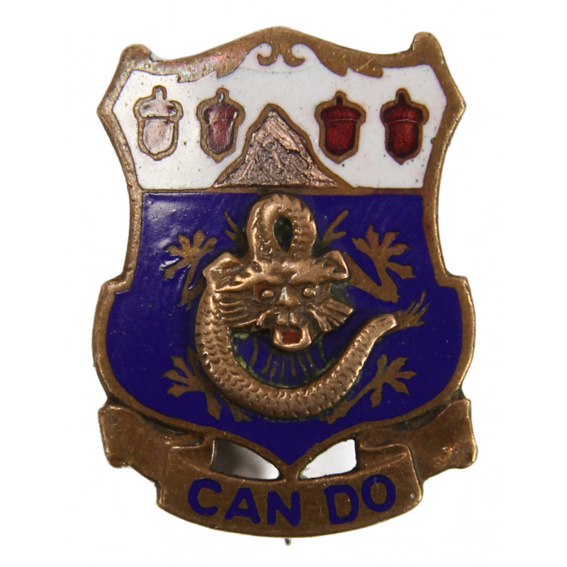 Distinctive Insignia, 15th Inf. Rgt., 3rd Infantry Division
