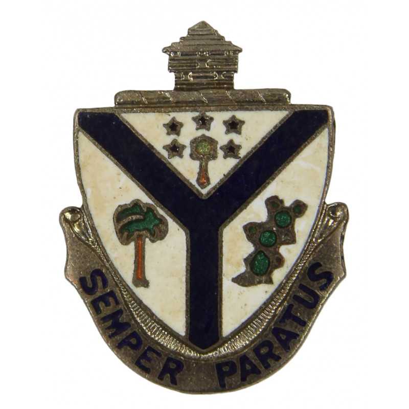 Distinctive Insignia, 132nd Inf. Rgt., 23rd Infantry Division (Americal), SB
