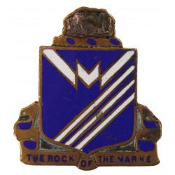 Crest, 38th Inf. Rgt., 2nd Infantry Division, à écrou