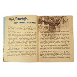Booklet, Historical, Military Police - ETO