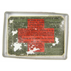 Packet, First Aid, Individual, Aircrew Member, USAAF