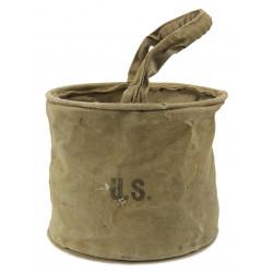 Bucket, Watering, Canvas, J.Q.M.D., 1942