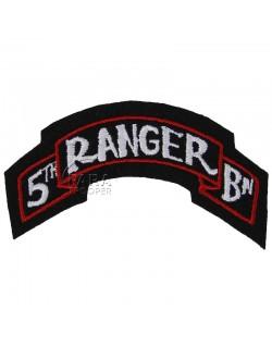Titre d'épaule 5e Ranger Bn.