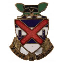 Crest, 13th Inf. Rgt., 8th Infantry Division, à vis.