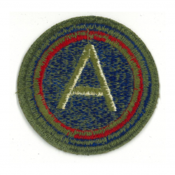 Patch, 3rd Army (General Patton), OD Border, Green Back, 1943