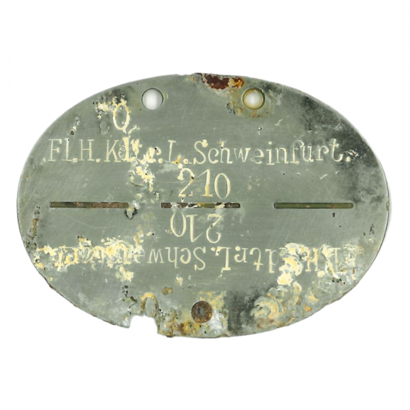 Tag, Identity, German, ???FJR6, Normandy
