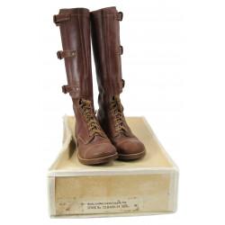 Boots, legging top, cavalry / tank crew, 1941, with original box