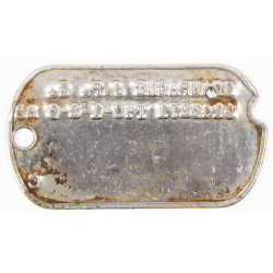 Dog tag, US, Normandy