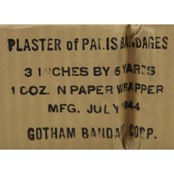 Bandage, Plaster of Paris, Gotham Bandage Corp., 1944