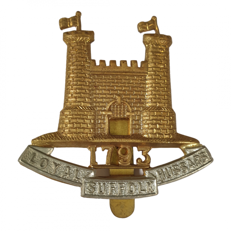 Cap Badge, The Duke of York's Own Loyal Suffolk Hussars, Normandy