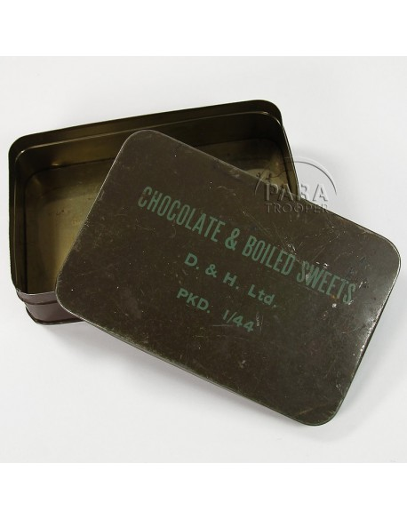 Tin, Chocolate & Boiled Sweets, 1944