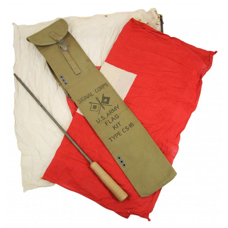 Flag, Kit, Semaphore, US Army