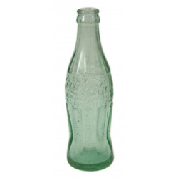 Bottle, Coca-Cola, Green, Miami, Fla., dated 1942