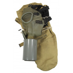 Gas Mask, M1A1, US Airborne, 1941, with laundry