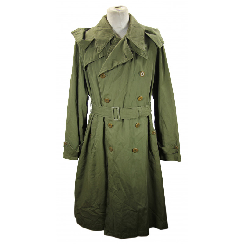 Overcoats, Field, Officer's, OD 7, US Army, 1943, 42 L