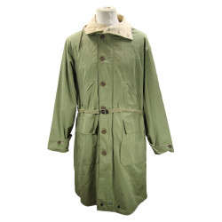 Overcoat, Parka type, Reversible, Unlined