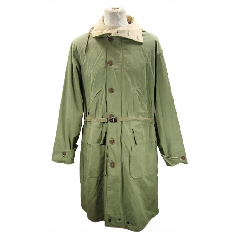 Overcoat, Parka type, Reversible, Unlined