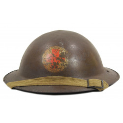 Helmet, Mk II, Medic, 1st Belgian Brigade, 1944