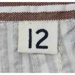 Trousers, US Army Nurse, Seersucker, size 12