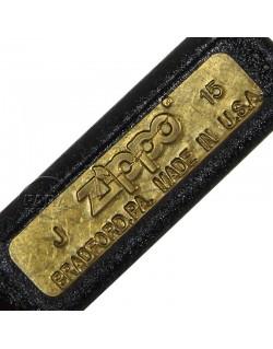 Briquet US, fabrication Zippo 1943, Black Crackle Finish