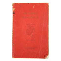 Manual, The Marine's Handbook, 1940, ID