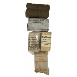 Kit, First Aid, German, Verbandkasten für Kraftwagen, Normandy