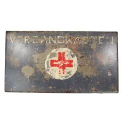 Kit, First Aid, German, Verbandkasten für Kraftwagen, Normandy