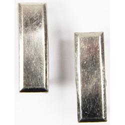 Pair, Rank insignias, Miniature, 1st Lieutenant, GEMSCO