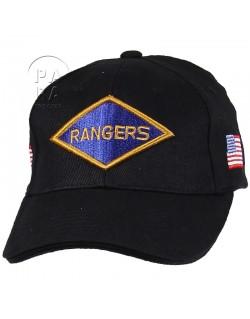 Cap, Baseball, Rangers, black.