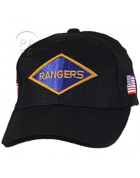 Cap, Baseball, Rangers, black