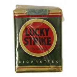 Cigarette Pack, Lucky Strike, Green, 1941