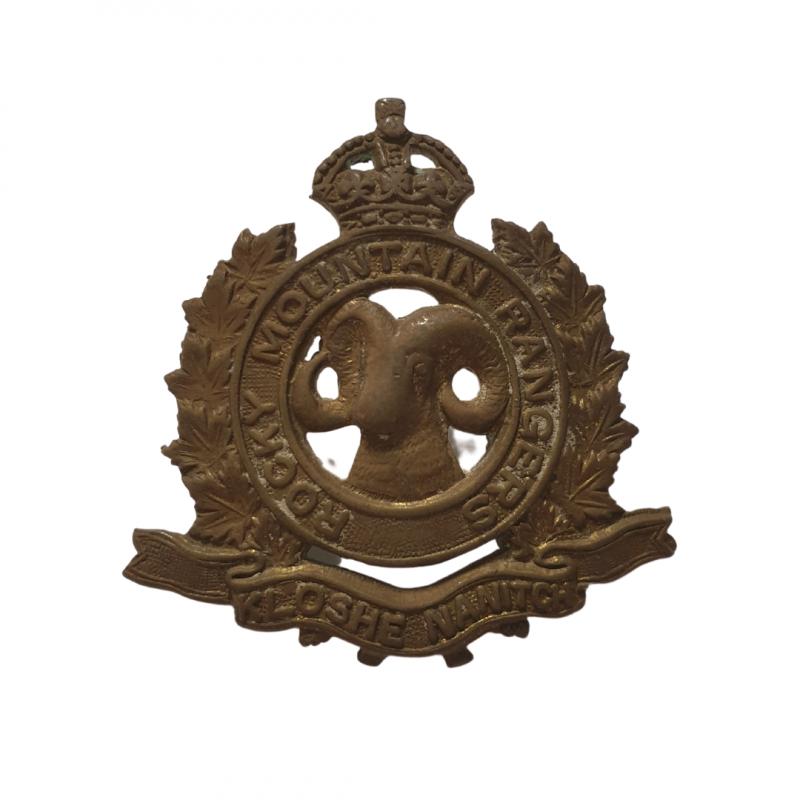 Cap Badge, The Rocky Mountain Rangers