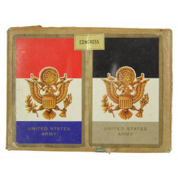 Cards, Playing, US ARMY CONGRESS Playing Cards