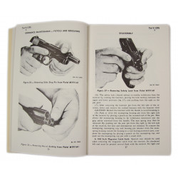 Manual, Technical, TM 9-1295, Pistols and Revolvers, 1942