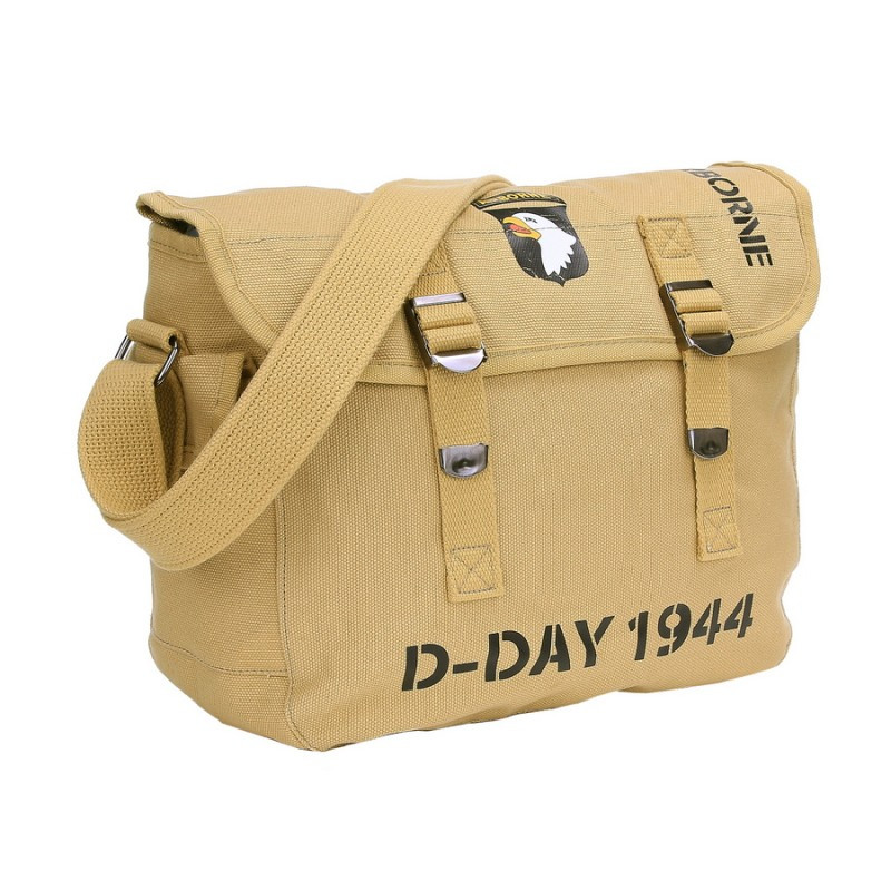 Sac en toile,101st Airborne, D-Day 1944