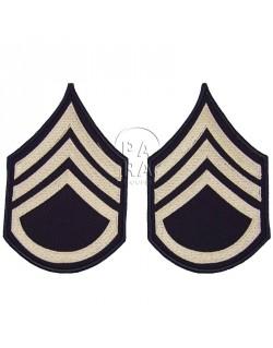 Grades en tissus de Staff/Sergeant