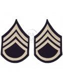 Grades en tissu de Staff/Sergeant