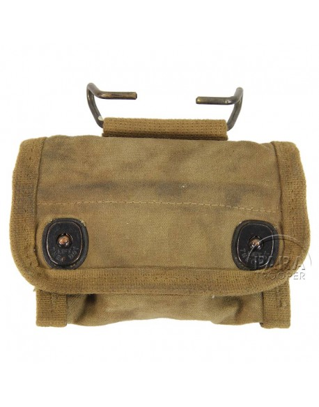 Compass, Lensatic, US Army Engineer, with canvas pouch