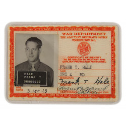 Card, Identification Medical I.D., 2nd type